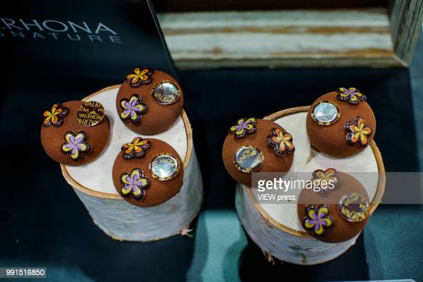 food is displayed during The Summer Fancy Food Show at the Javits Center in the borough of Manhattan on July 02 2018 in New York The Summer Fancy...