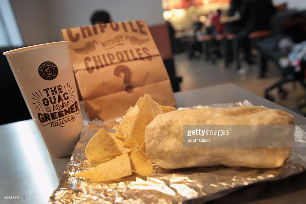 Chipotle Stock Plunges 14 Percent To 5-Year Low After Weak Earnings Report : News Photo