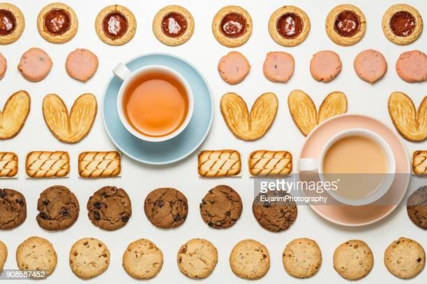 Food knolling, afternoon tea time