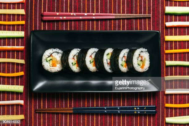 food knolling, japanese lunch - nori stock pictures, royalty-free photos & images