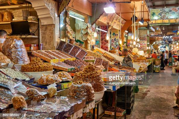 food market of Meknes