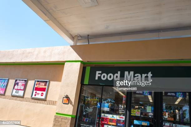 food mart - convenience store stock photos and pictures