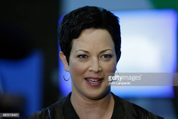 Food Network Host nutritionist and author Ellie Krieger attends the Great American Milk Drive at City Harvest Food Rescue Facility on April 2 2014 in...