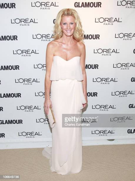 Food Network' Sandra Lee attends the 20th Annual Women of the Year awards hosted by Glamour Magazine at Carnegie Hall on November 8 2010 in New York...
