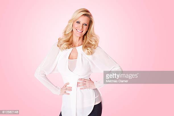 Food Network star and chef Sandra Lee is photographed for Parade Magazine on February 19 2012
