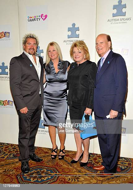Food Network star/chef Guy Fieri Lori Fieri Autism Speaks cofounders Suzanne and Bob Wright attend Autism Speaks to Wall Street 5th Annual Celebrity...