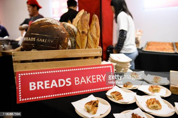 Food on display at Four Roses Bourbon's Broadway Tastes presented by iHeartRadio Broadway hosted by Alex Brightman with special guest Randy Rainbow...