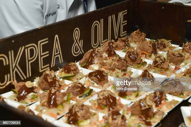 Food on display at The Food Network & Cooking Channel New York City Wine & Food Festival Presented By Coca-Cola - Smorgasburg presented by Thrillist...