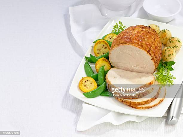 food - roast turkey stock pictures, royalty-free photos & images