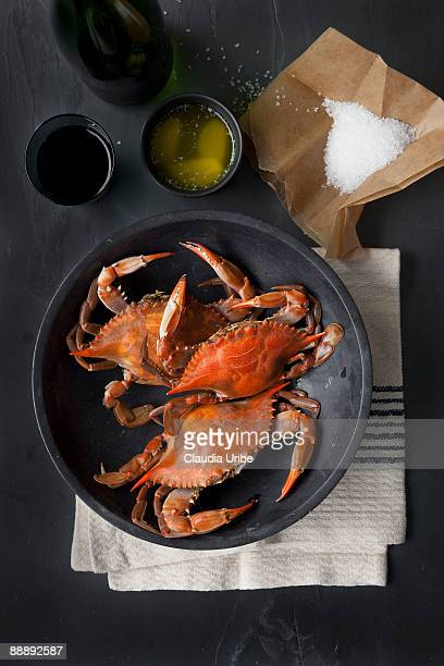 food - crab stock pictures, royalty-free photos & images