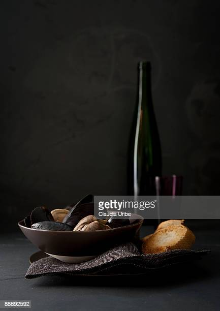 food - mussel stock pictures, royalty-free photos & images