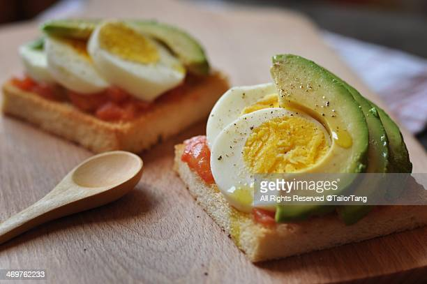 food porn - hard boiled eggs stock photos and pictures