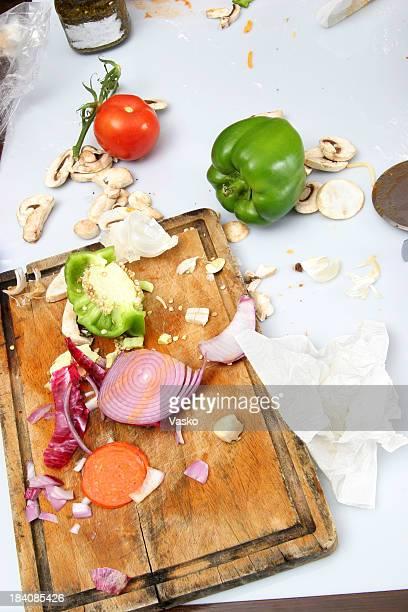 Food Preparation - Cleanup Time 1