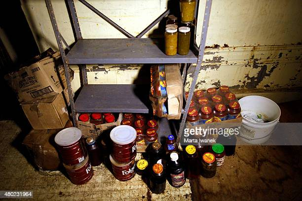 S MILLS ONJULY 9 Food preserves in Ark Two Bruce Beach's fallout shelter in Horning's Mills on July 9 2015 Marta Iwanek/Toronto Star