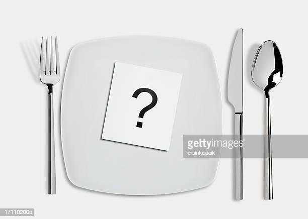 お食事の問題 - 盛り皿 ストックフォトと画像