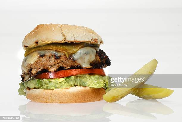 Food Section contest finalists for Summer Burger Contest Picured is the Southwestern Turkey Burger
