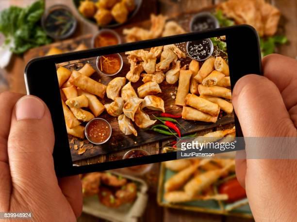 Food Selfie - Asian Appetizers