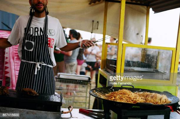 Food Stall at a Festival