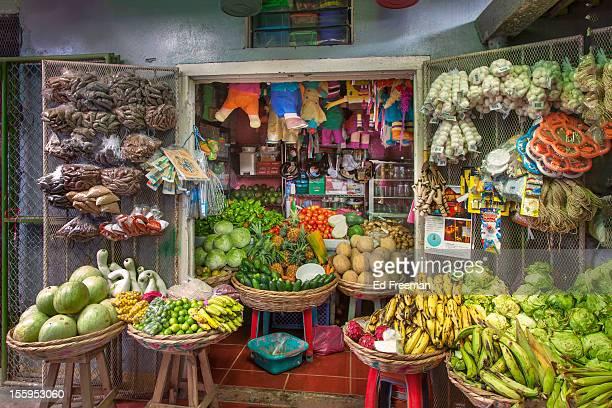 food stall, marketplace, nicaragua - nicaragua fotografías e imágenes de stock
