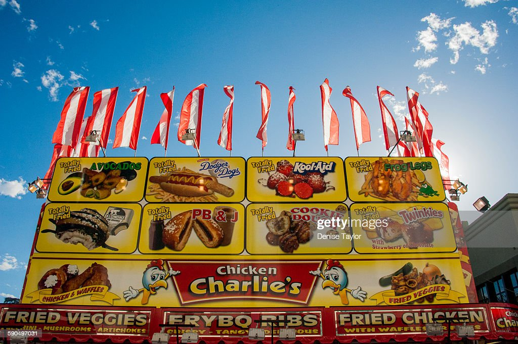 Weird Fair Food Pictures Getty Images