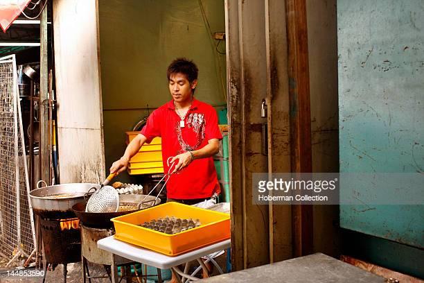 Food Stall Street Vendor