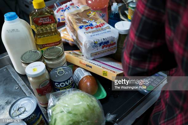 BAYAMON PR MARCH Food Stamps beneficiaries do their groceries shopping at Agranel Supermarket in Bayamon Puerto Ricans have less money for food this...