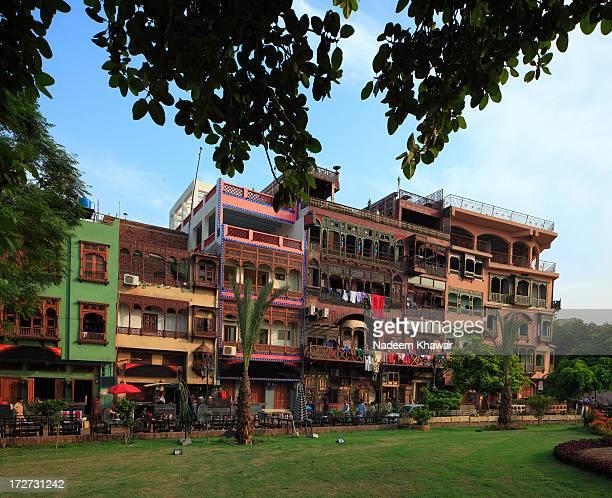 food street, lahore pakistan - パキスタン ラホール市 ストックフォトと画像