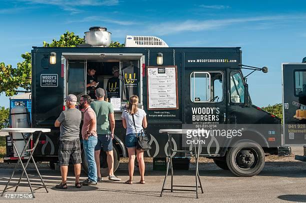 Food truck at Miami Beach