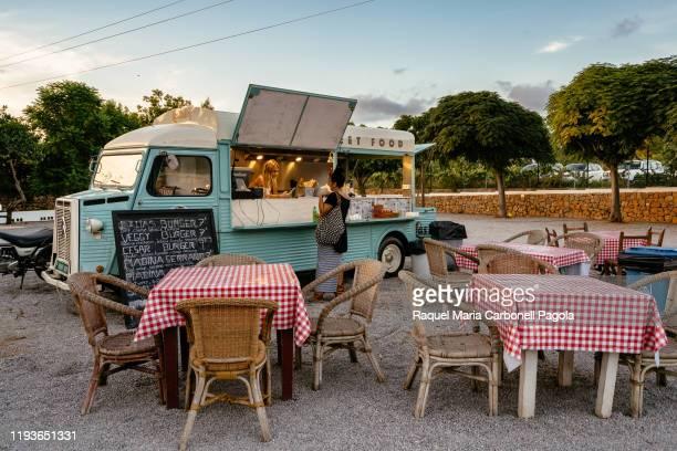 Food truck in Las Dalias hippy market.