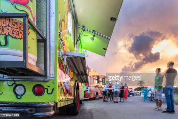 Food truck in Miami Beach