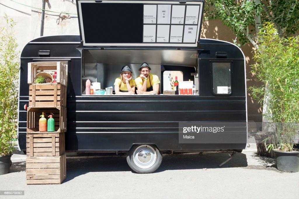 Food truck : Stock Photo