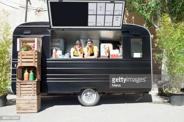 food truck - kiosk stock pictures, royalty-free photos & images