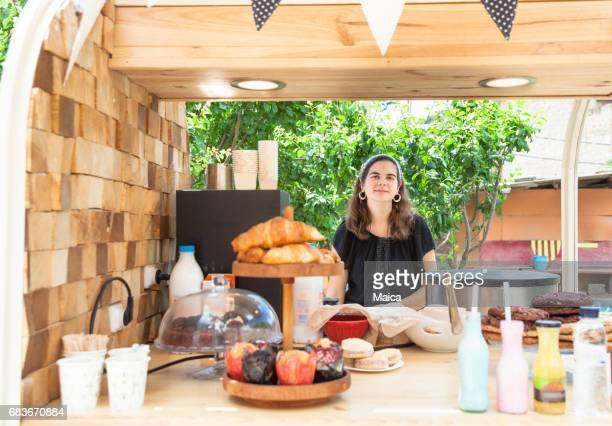 Food truck, kleine bedrijfseigenaar