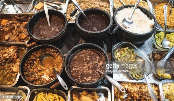 food variations - feijoada imagens e fotografias de stock