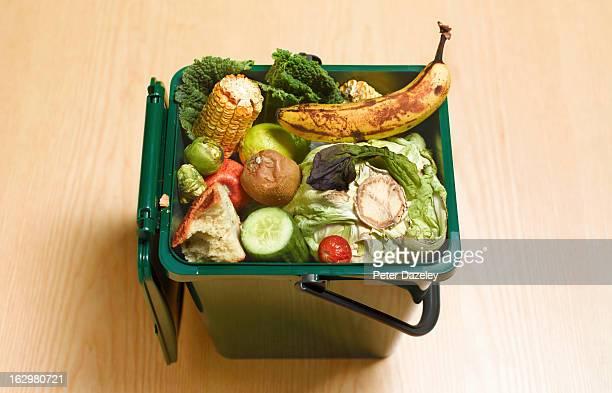 food waste recycling compost - dranken en maaltijden stockfoto's en -beelden