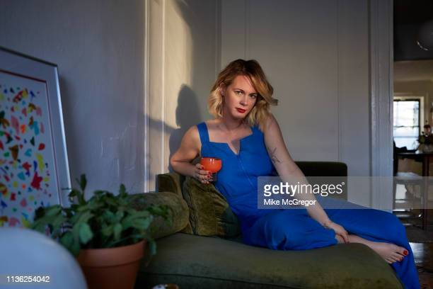 Food writer Alison Roman is photographed for The Observer's Food Monthly on February 14 2019 in New York City