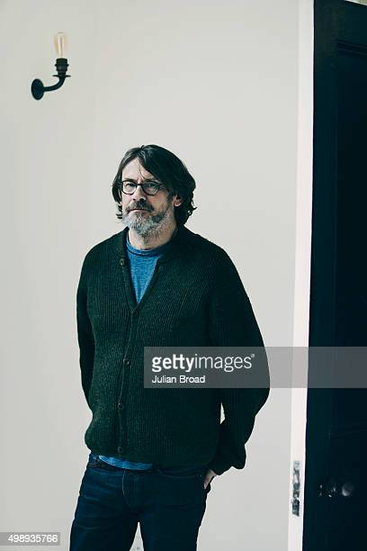 Food writer and cook Nigel Slater is photographed for the Observer on August 4, 2015 in London, England.
