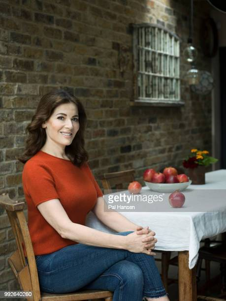 Food writer and tv presenter Nigella Lawson is photographed for Waitrose magazine on September 5, 2017 in London, England.