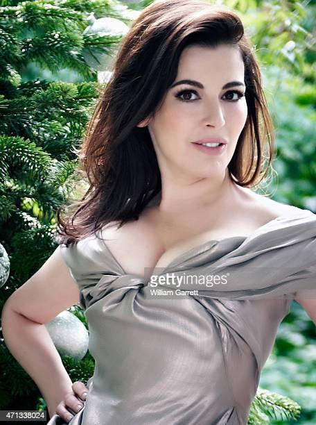 Food writer and tv presenter Nigella Lawson is photographed for Red magazine on July 30 2010 in London England