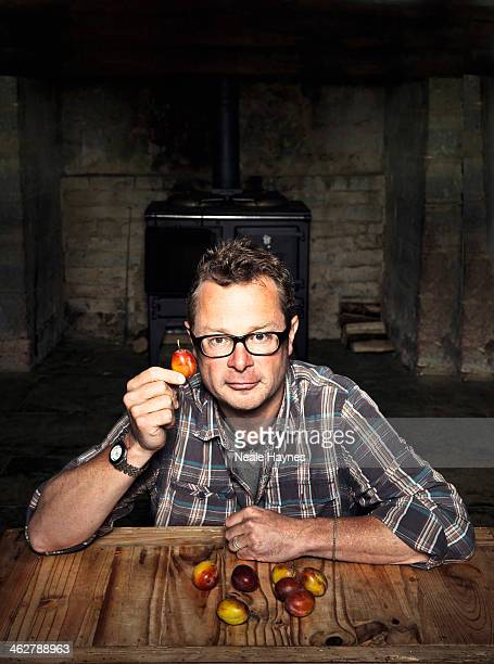 Food writer, campaigner, chef and tv presenter Hugh Fearnley Whittingstall is photographed for Channel 4 on September 18, 2013 in Bridport, England.