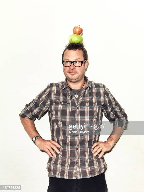 Food writer campaigner chef and tv presenter Hugh Fearnley Whittingstall is photographed for Channel 4 on September 18 2013 in Bridport England