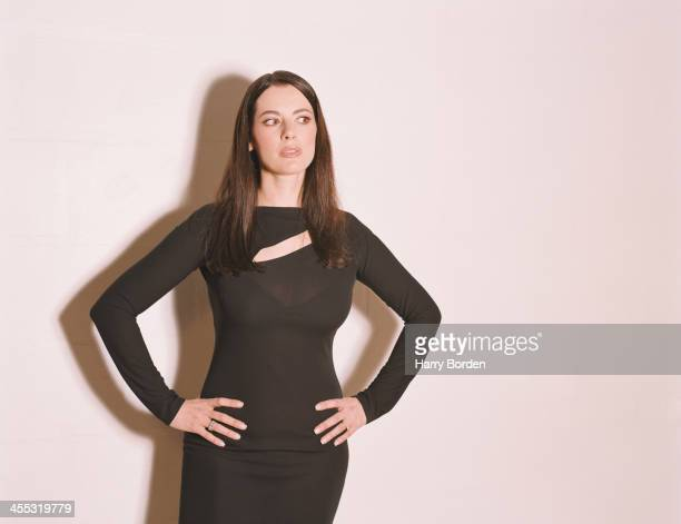 Food writer journalist and broadcaster Nigella Lawson is photographed for the Observer on November 6 2000 in London England