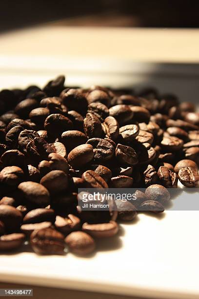 food-coffee-beans - jill harrison stock pictures, royalty-free photos & images