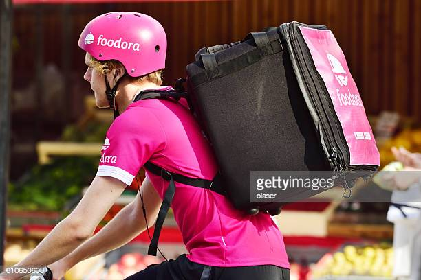 Foodora, food delivery by bike
