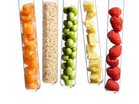 Foods in test tubes - gettyimageskorea