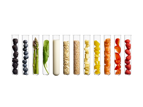 Foods in test tubes - gettyimageskorea