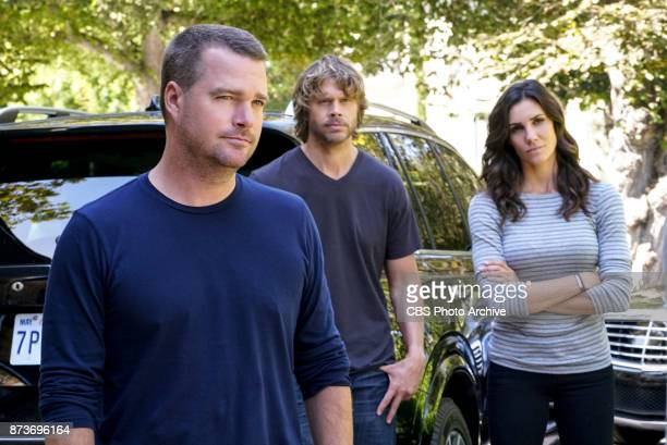 'Fool Me Twice' Pictured Chris O'Donnell Eric Christian Olsen and Daniela Ruah Callen and the team question CIA Agent Joelle Taylor's backstory after...