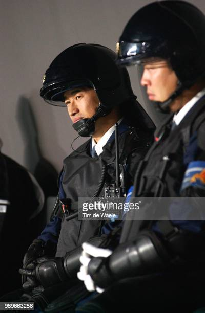 Argentina England World Cup 2002 /Securite Veiligheid Police Politie Argentine Argentinie Engeland Great Britain Copyright Corbis United Kingdom