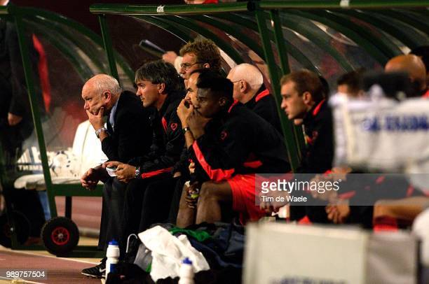 Belgium Bulgary/ QualEuro 2004 Deception Teleurstelling Anthuenis Aime Snelders Eddy Munaron Jacky Mpenza Emile Herpoel Frederic /Red Devils Diables...