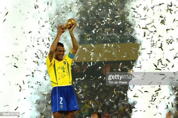 Final Germany Brazil Wc 2002 /Cafu Coupe Cup Beker Joie Vreugde Celebration Allemagne Duitsland Bresil Brasil